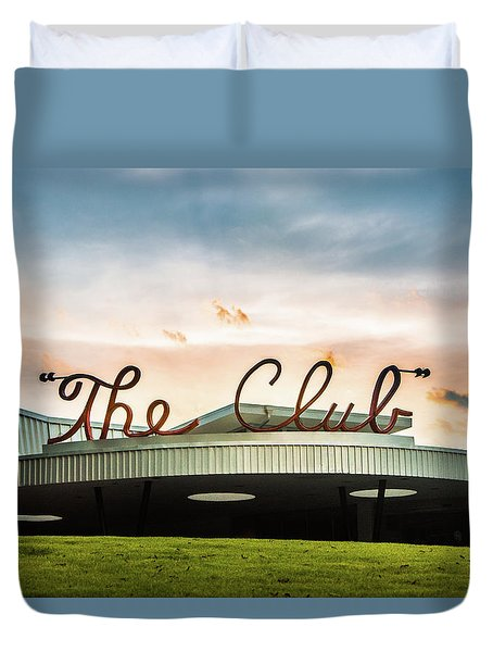 Duvet Cover featuring the photograph The Club Birmingham by Parker Cunningham
