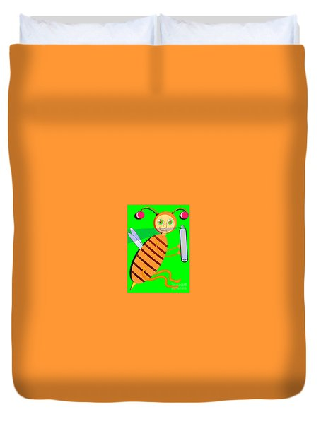 The Clueless Insect Duvet Cover