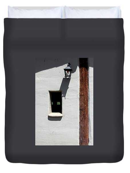 The Coach House Duvet Cover by Kandy Hurley
