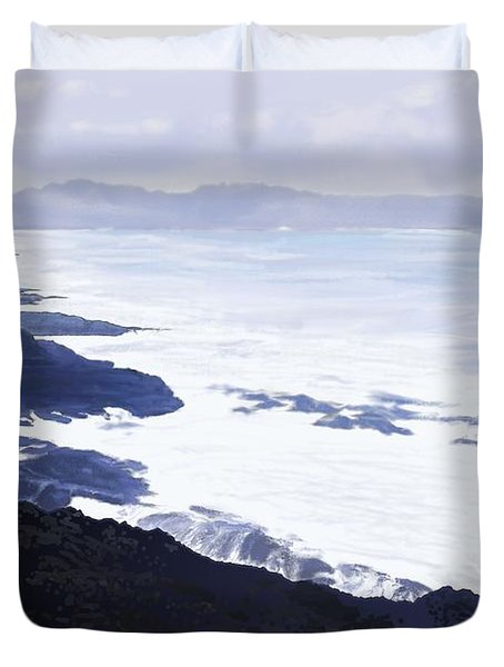 The Coast Duvet Cover