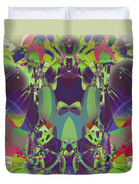 The Color Mask Duvet Cover