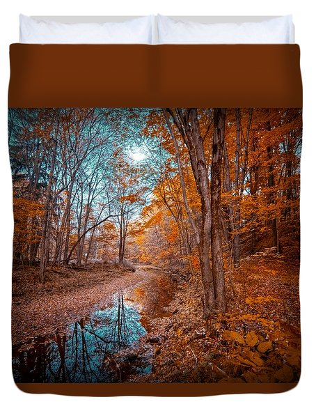 The Color Of Fall Duvet Cover