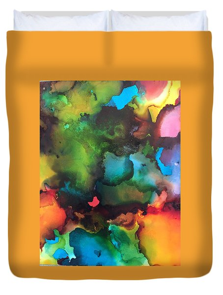 The Color Wheel Duvet Cover
