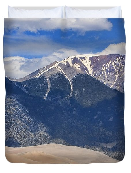 The Colorado Great Sand Dunes  125 Duvet Cover by James BO  Insogna