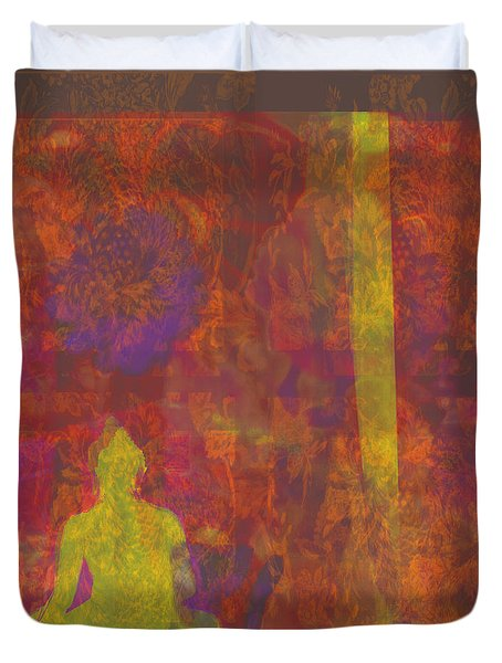 The Colors Of Autumn Duvet Cover