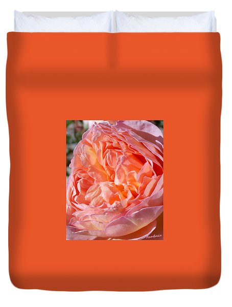 The Colors Of Fragrant Bliss Duvet Cover by Anastasia Savage Ealy