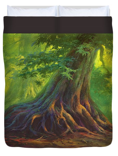 The Colors Of Light Duvet Cover