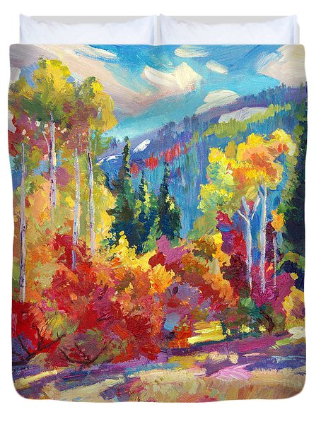 The Colors Of New Hampshire Duvet Cover