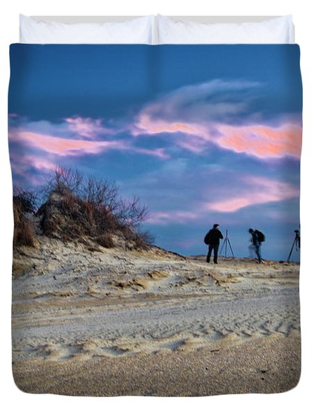 The Colors Of Sunset Duvet Cover