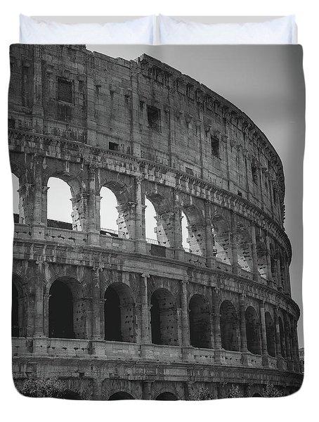 The Colosseum, Rome Italy Duvet Cover