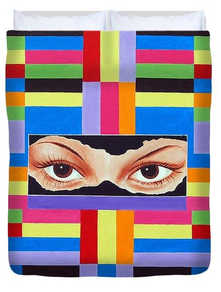 The Colour Of Life Duvet Cover by Ragunath Venkatraman