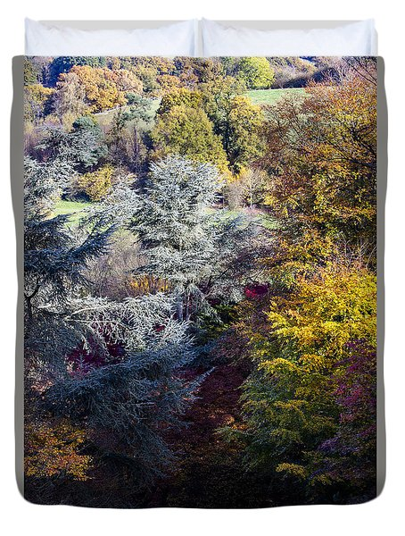 The Colours Of Autumn Duvet Cover