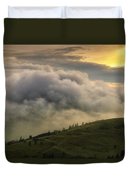 Summer Storm - Roan Mountain Duvet Cover