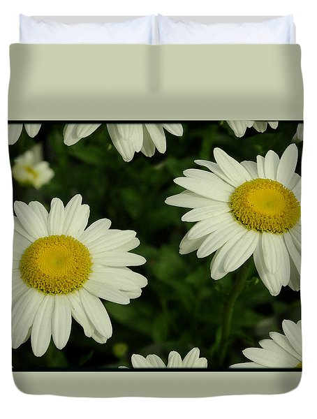 The Common Daisy Duvet Cover