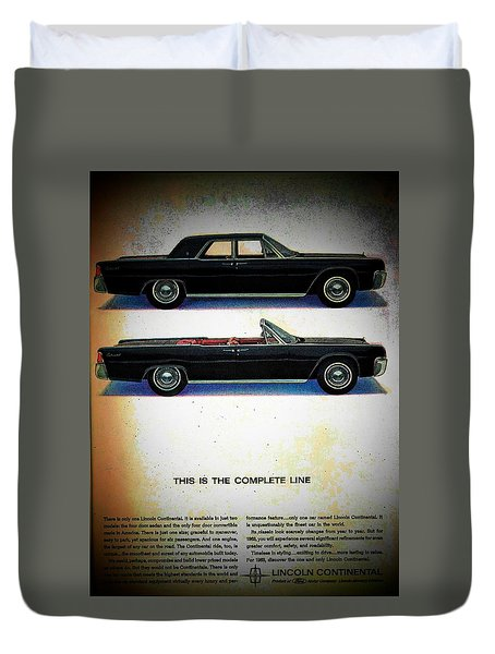 The Complete Line Duvet Cover