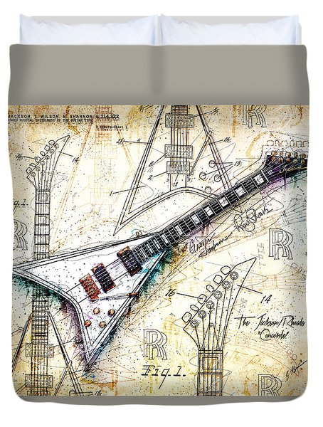 The Concorde Duvet Cover