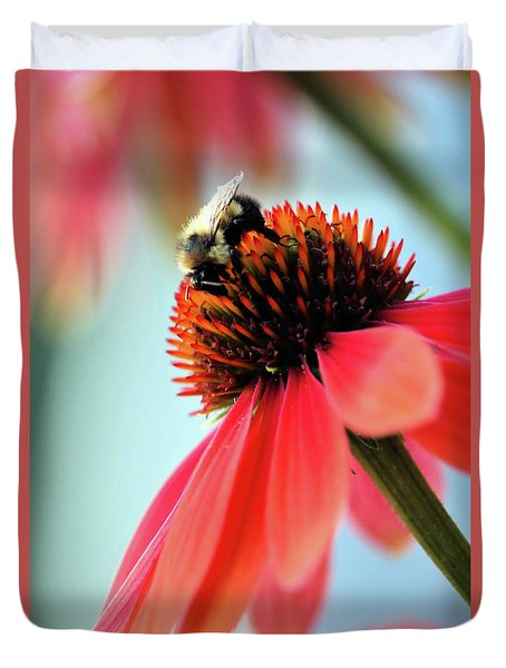 The Coneflower Collection 2 Duvet Cover