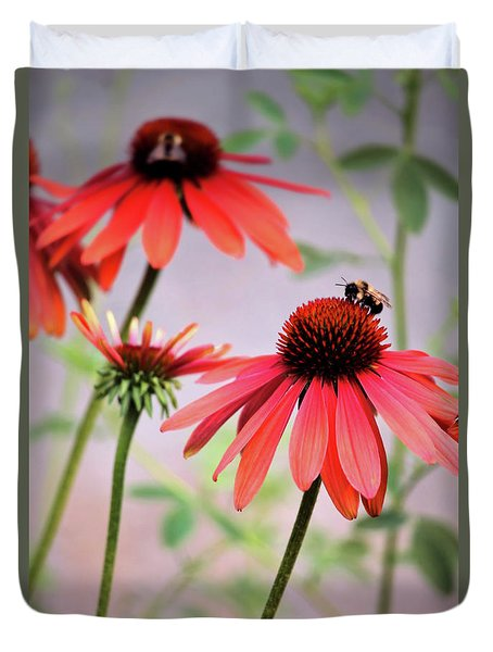 The Coneflower Collection Duvet Cover
