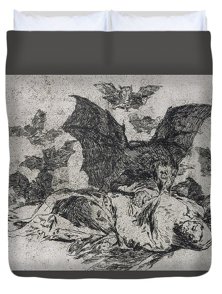 The Consequences Duvet Cover by Goya