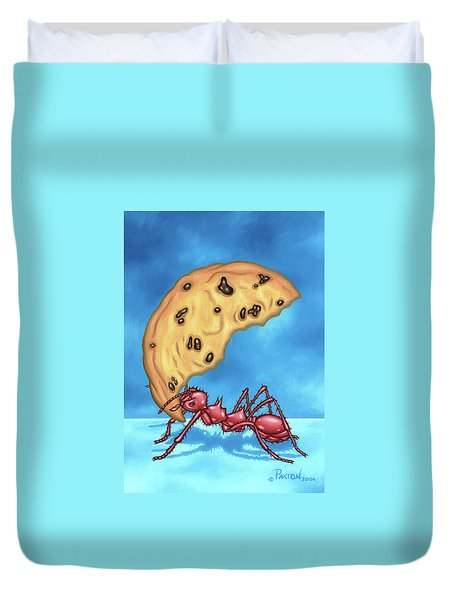 The Cookie Cutter Ant Duvet Cover