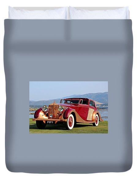 The Copper Kettle Rolls-royce Duvet Cover