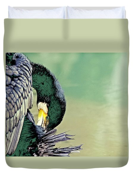 The Cormorant Duvet Cover