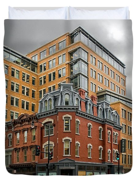 The Corner Duvet Cover by Christopher Holmes