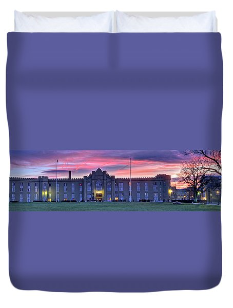 The Corps Forms For Breakfast Duvet Cover
