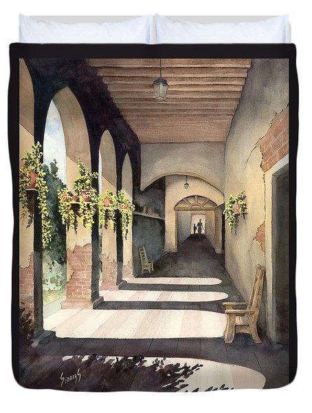 The Corridor 2 Duvet Cover by Sam Sidders