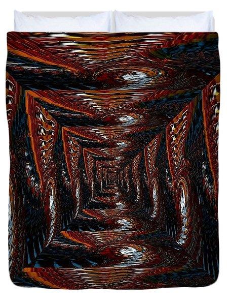 The Corridor To Slip In Duvet Cover