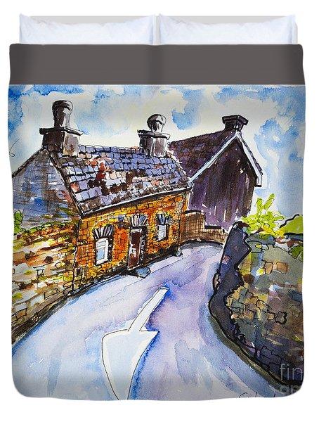 The Cottage Kinsale Duvet Cover by Lidija Ivanek - SiLa
