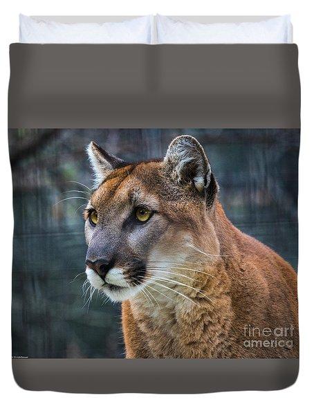 The Cougar Duvet Cover