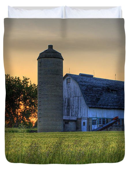The Country Sunset Duvet Cover