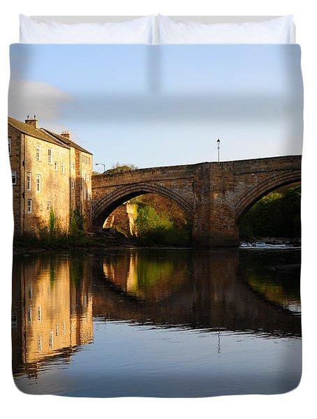 The County Bridge Duvet Cover