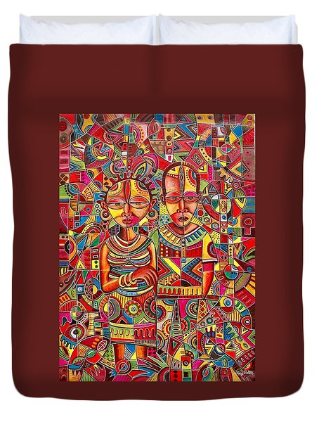 The Couple Duvet Cover
