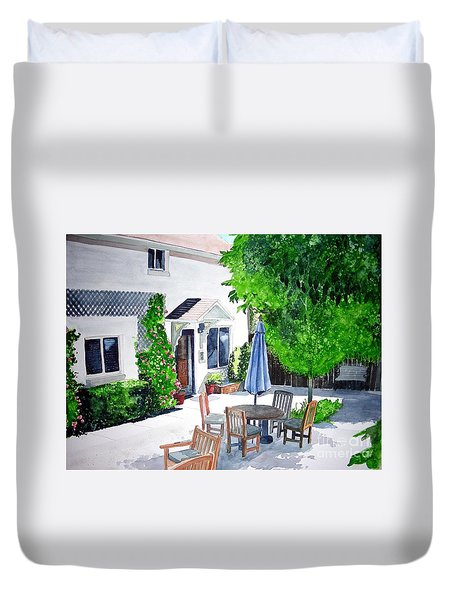 The Court Of Three Sisters Duvet Cover