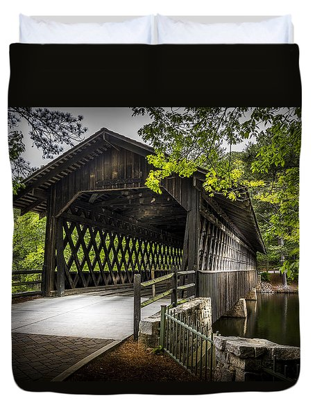 The Coverd Bridge Duvet Cover