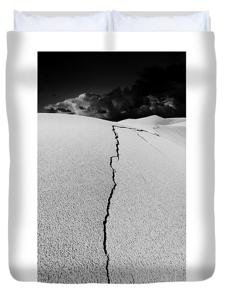 The Crack Of Dawn Duvet Cover