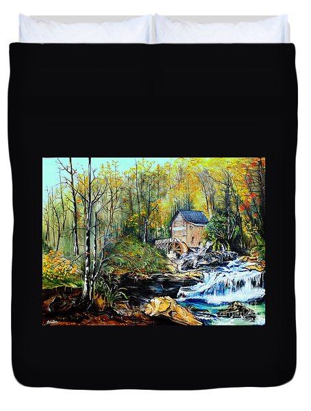 Glade Creek Duvet Cover