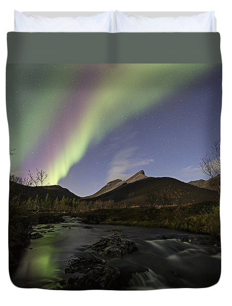 The Creek II Duvet Cover