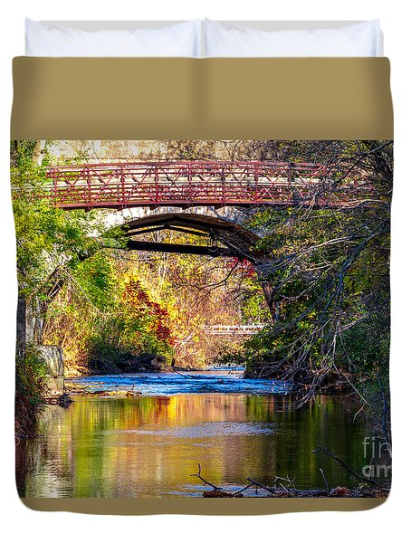 The Creek Duvet Cover