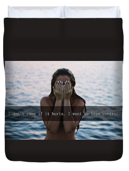 The Creep Duvet Cover by Irma Vargic