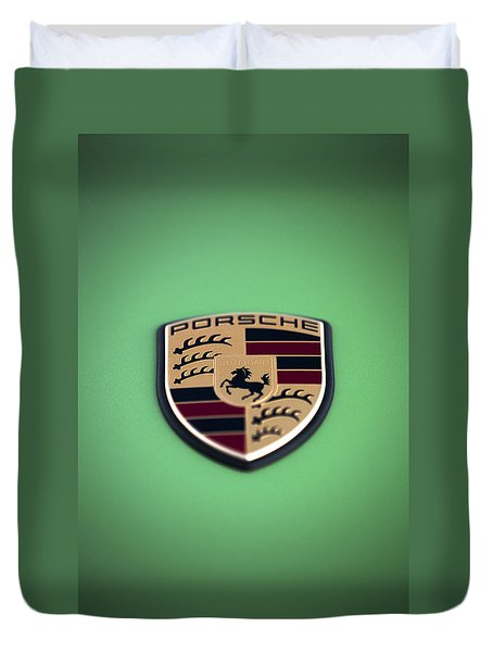 The Crest Duvet Cover