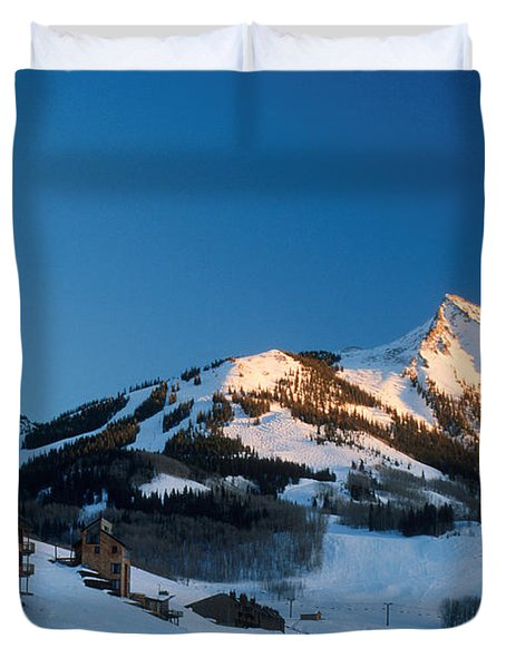 The Crested Butte Duvet Cover by Jerry McElroy