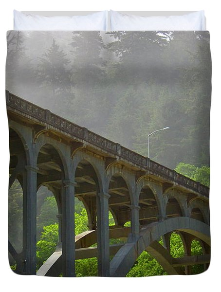 The Crossing Duvet Cover by Laddie Halupa
