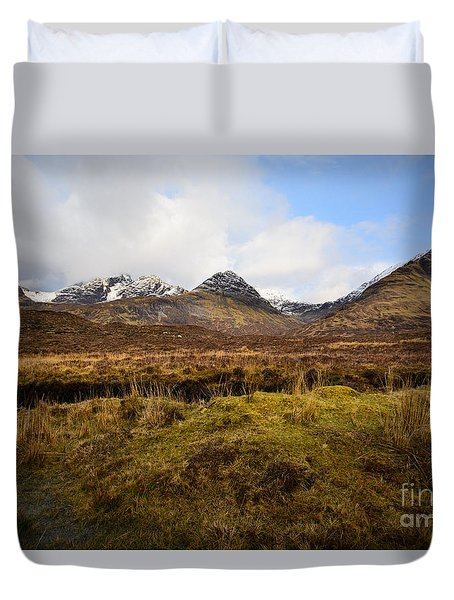 The Cuillins Duvet Cover