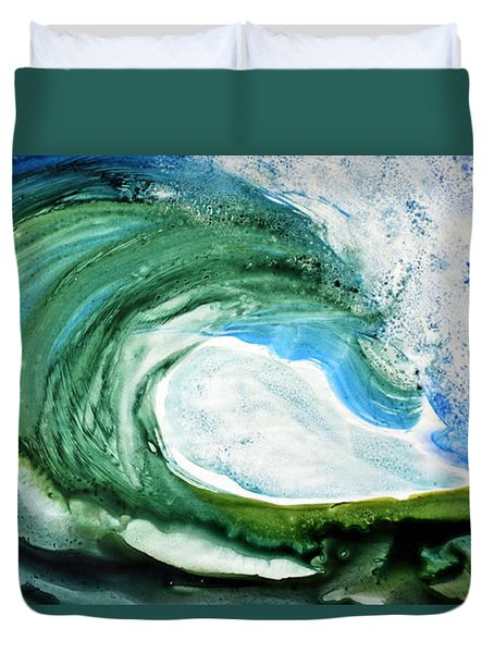 The Curl Duvet Cover