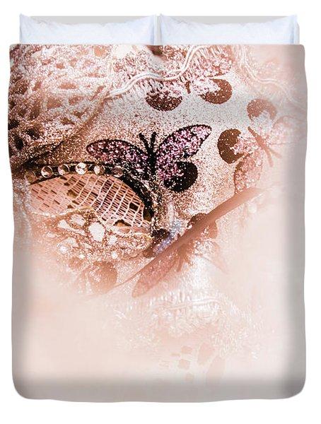 The Curtain Close Duvet Cover
