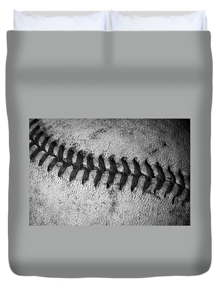 Duvet Cover featuring the photograph The Curve Ball by David Patterson