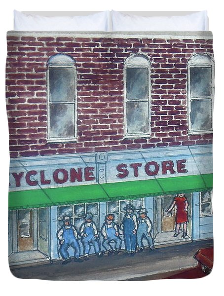 The Cyclone Store 1948 Duvet Cover